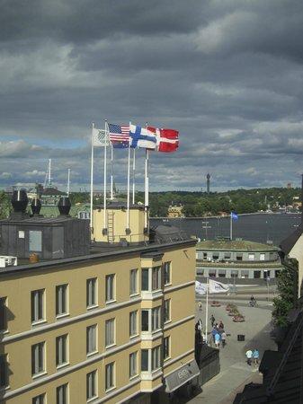 Hilton Stockholm Slussen: utsikt från junior svit
