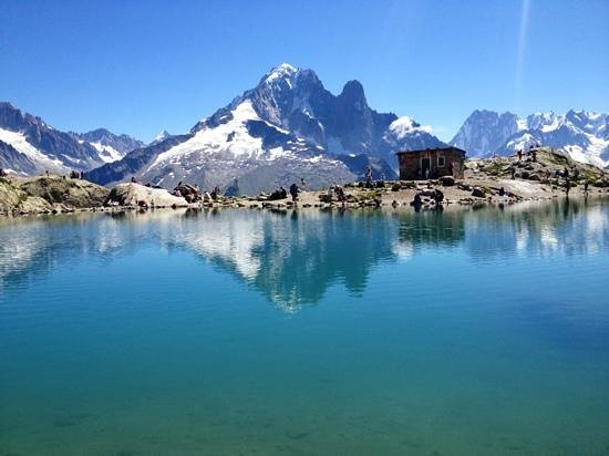 Auberge du Manoir: Hiking around Chamonix, Lac Blanc