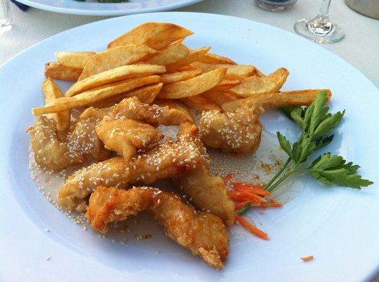 Anesi Restaurant: Tempura chicken
