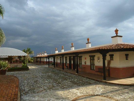 Hacienda La Magdalena Boutique Hotel: Exterior de habitaciones