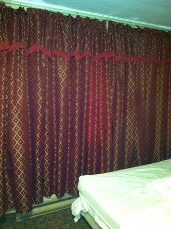 Ridgetown Inn: Room Curtins