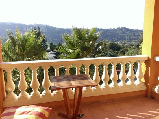 Lou Castelet Restaurant Residence Hoteliere: balcony