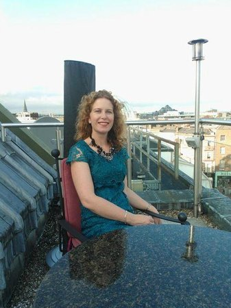 Fitzwilliam Hotel Dublin: View from the Balcony