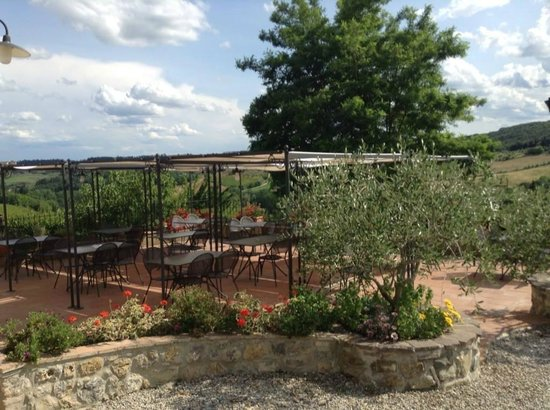 Agriturismo Niccolai - Palagetto di sotto: Outdoor Dining
