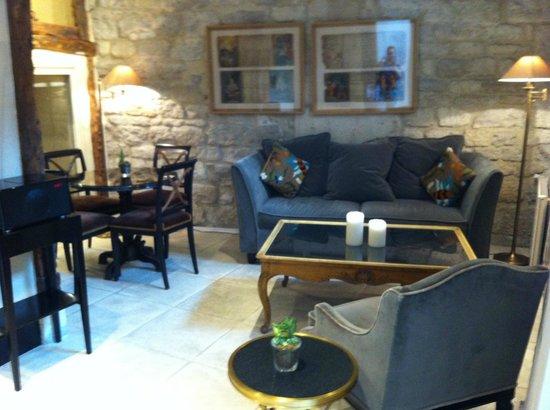 Hotel Saint Germain : Lounge, breakfast area