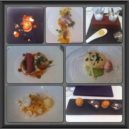 Lumiere: 6 course tasting menu