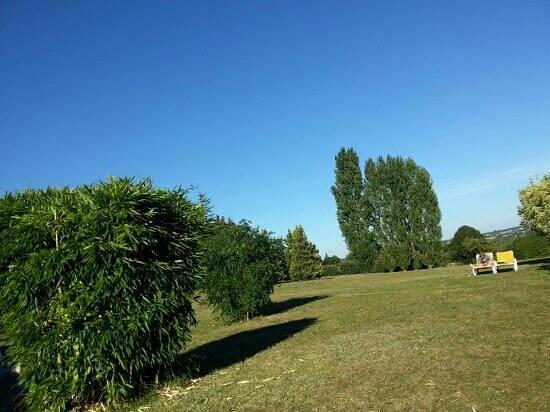 Logis Luccotel : le parc bien au calme