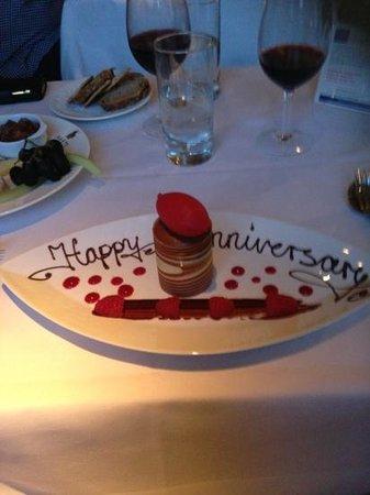 Hart's Restaurant : chocolate and sorbet
