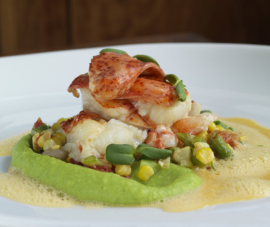 Artistry on the Green: New England Lobster