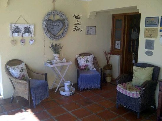 Thylitshia Villa Country Guesthouse: the stoep