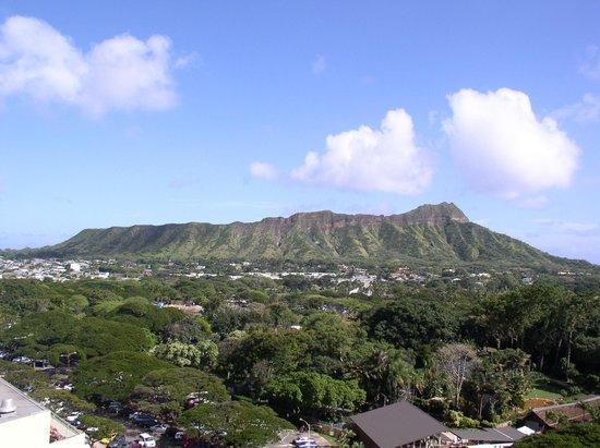 Park Shore Waikiki: Room view.