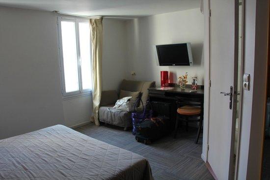 Hotel Le Mistral: camera