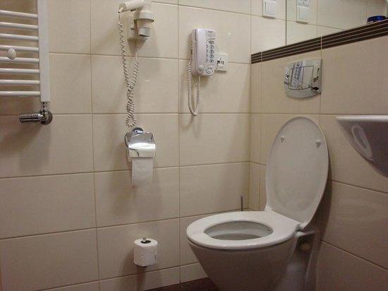 Best Western Premier Krakow Hotel: Bagno con telefono