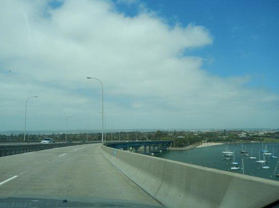 Coronado Bridge: extensive bridge