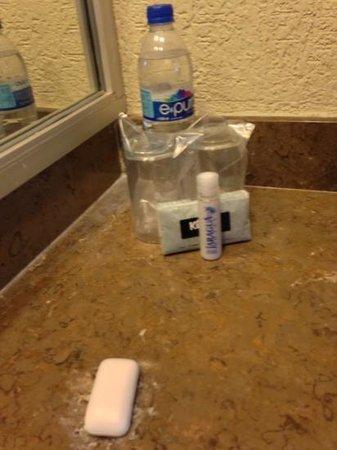 Hotel Jaragua: Juego de baño de bajá calidad