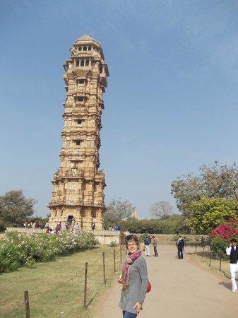 Vijay Stambha : Mia moglie ai piedi della torre