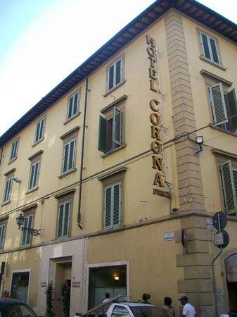 Hotel Corona D'Italia: Facciata dell'hotel