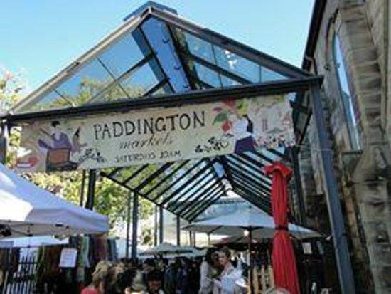 Paddington Markets : Entrance