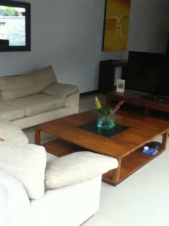 The Wolas Villas & Spa : Drawing room