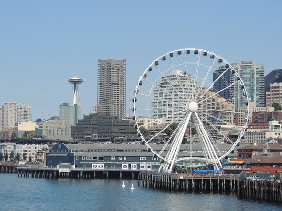 Clearwater Casino: Seattle from Bainbridge Ferry