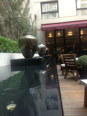 Serena Hotel : Patio garden