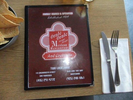 Orale Orale Mexican Restaurant: Locations