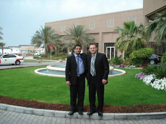 Movenpick Hotel Bahrain: ME & MATTHEW