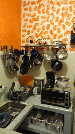 SieChitá Guesthouse: Kitchen for guest use