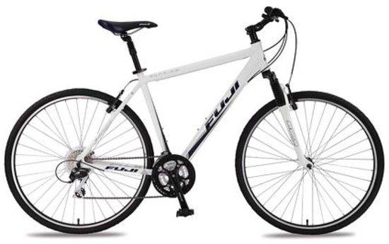 Great Bike Tours: Hybrid bike with step-over frame (Fuji Sunfire 2.0)