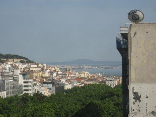 Marques De Pombal Hotel : 部屋からの眺め