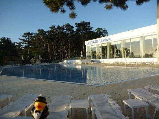 Maritim Seehotel Timmendorfer Strand: 26 meter outdoor lap pool
