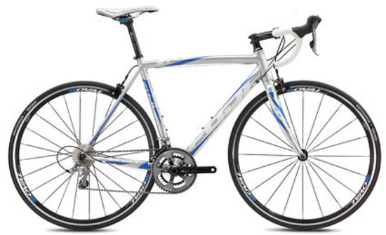 Great Bike Tours: Road bike (Fuji Roubaix 1.5)