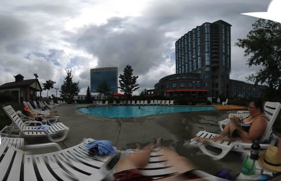 hotel outdoor pool. Brookstreet Hotel: Relaxing At The Outdoor Pool Hotel