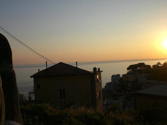 vista alla sera dalla terrazza - Picture of B&B La Terrazza ...