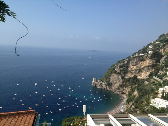 Hotel Villa Franca: View from our room