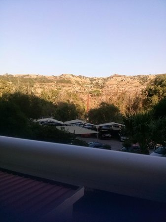 Pegasos Deluxe Beach Hotel: widok (stara część)