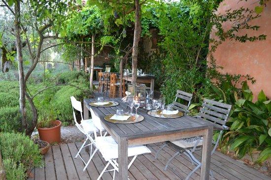 Fattoria San Martino: dining area