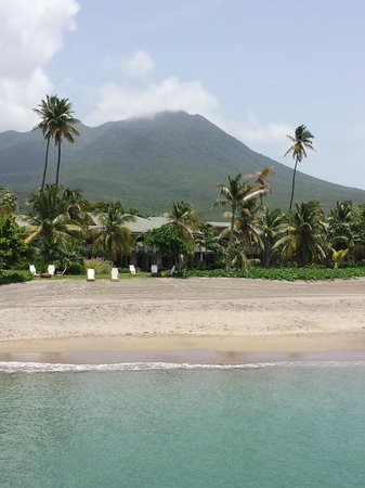Four Seasons Resort Nevis, West Indies: Beach and resort