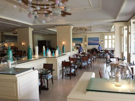 Four Seasons Resort Nevis, West Indies: Neve  - Breakfast restaurant