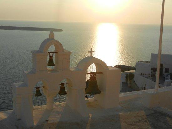Esperas Santorini: One more golden sunset