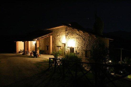 Agriturismo Le Sorgenti: Le sorgenti di notte