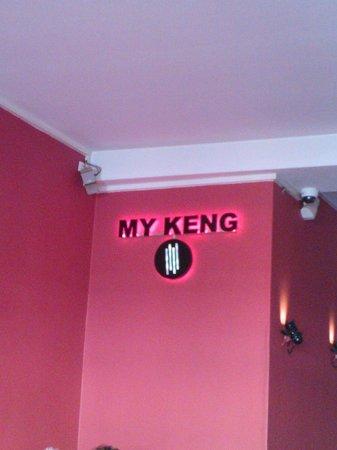my keng: :)