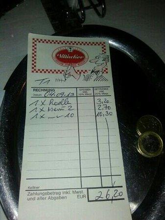 Ethiopian Restaurant: expensive service