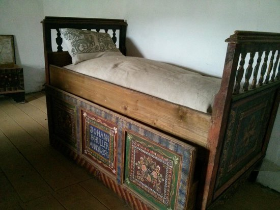 Cycling Romania : Historical artefacts in one of the fortified churches