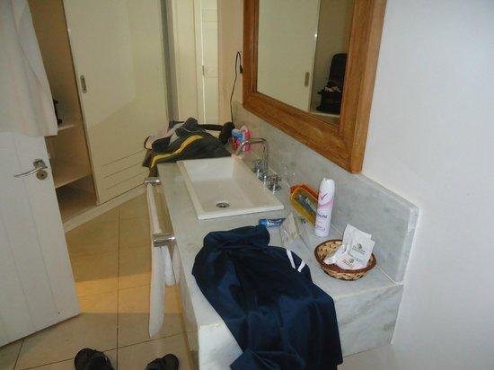 Apa Pau Brasil Hotel : Lavabo