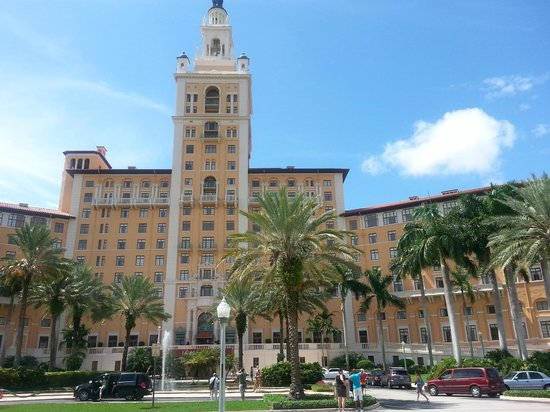 The Biltmore Hotel Miami Coral Gables : Front of the hotel