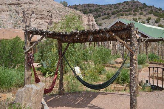Ojo Caliente Mineral Springs Spa: Hammocks