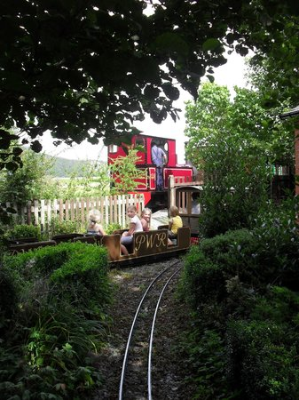 Welsh Highland Heritage Railway: Two railways at the station for the museum