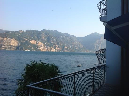 Hotel Venezia: view from the terrace in my room