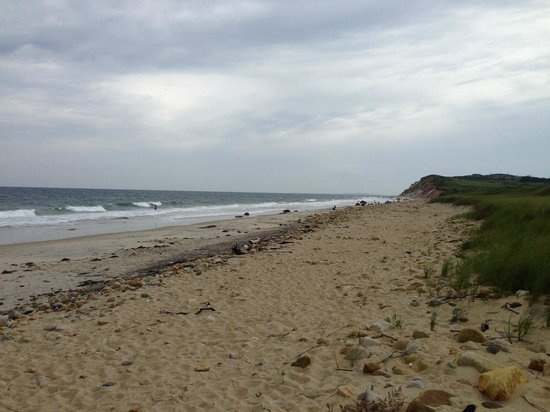The beach near the Duck Inn